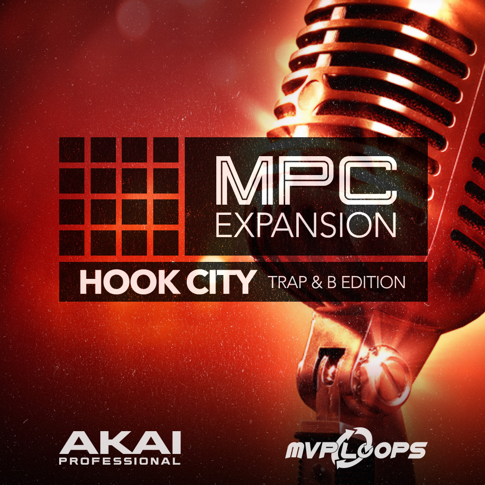 Akai Professional MPC Expansion Hook City: Trap & B Edition