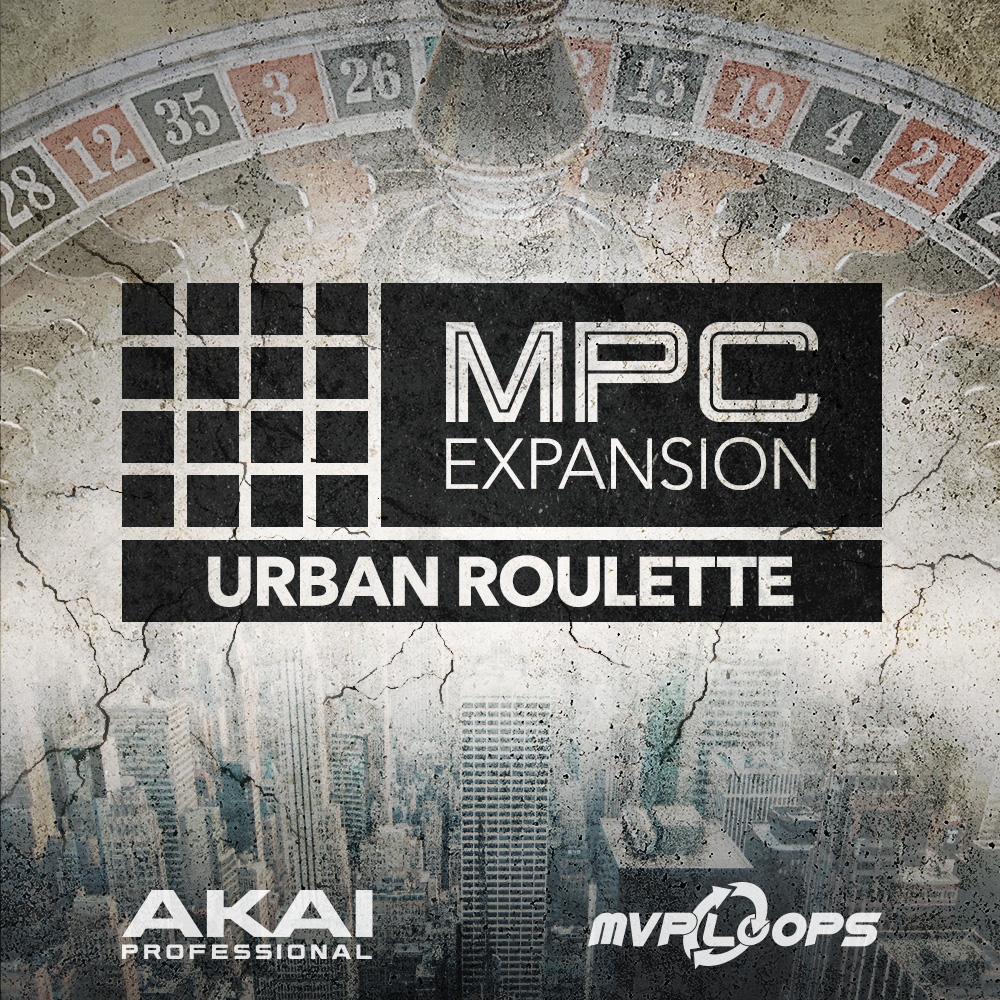 Akai Professional MPC Expansion Urban Roulette
